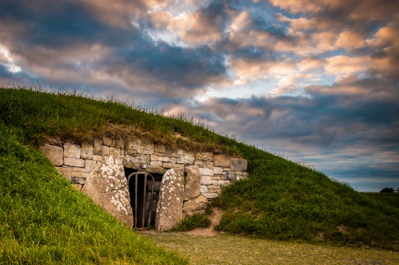 Newgrange and celebrating Samhain