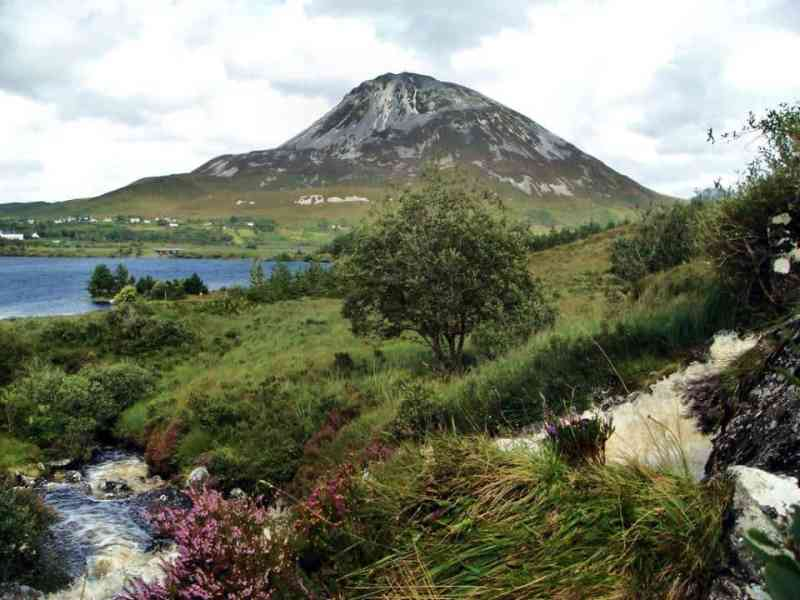Mount Errigal Irish famine and the Choctaw People on the Trail of Tears