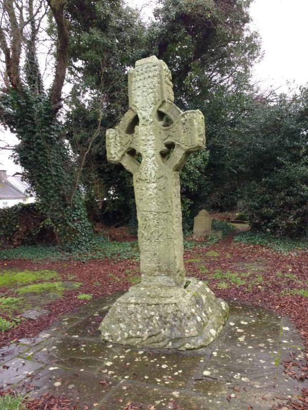 broken high cross at Kells
