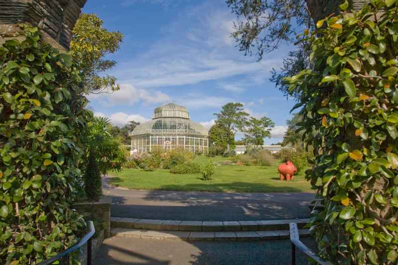 National Botanical Gardens greenhouses in Glasnevin