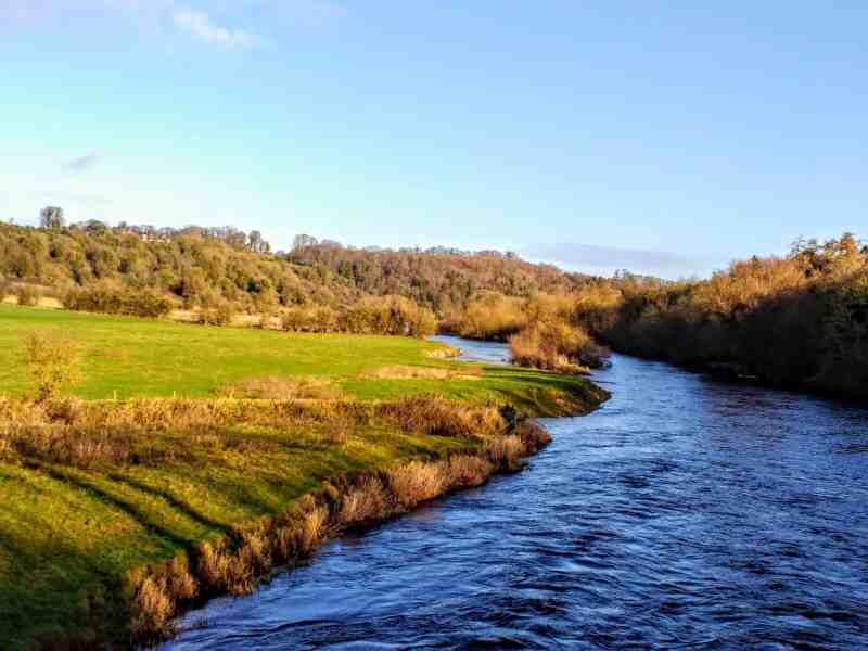 the Boyne River
