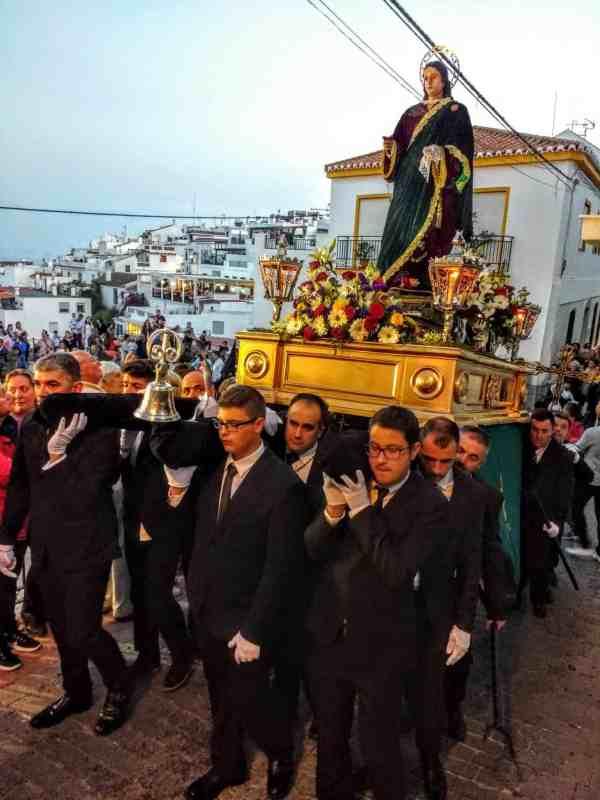 Semana Santa Processions trono of Jesus Christ