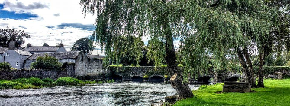 The village of Fethard in Ireland a medieval village that is still lived in.