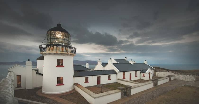 Clare Island LIghthouse to stay at in Ireland