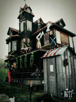 haunted house is ready