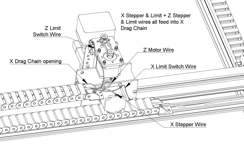 Drag Chain And Wiring 3dtek Xyz Carve Build Docs