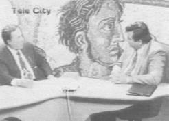 Φροντιστηριακά μαθήματα από τον μέντορα στον μαθητή. Η φωτογραφία από το 1998, λίγο πριν (ή λίγο μετά, δεν έχει σημασία) από ακόμη ένα μάλωμα των δύο κοινοβουλευτικών ανδρών.