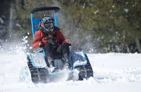 Xzavier Davis-Bilbo could play in the snow with this all terrain wheelchair