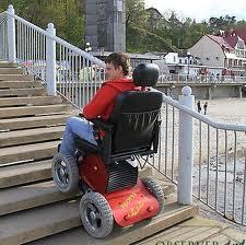 Xzavier Davis-Bilbo could climb stairs in an All Terrain Wheelchair