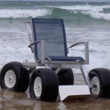 this all terrain wheelchair is waiting for Xzavier Davis-Bilbo