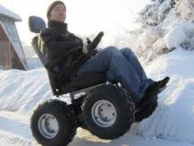 Xzavier Davis-Bilbo could use this all terrain wheelchair with all the snow in Milwaukee