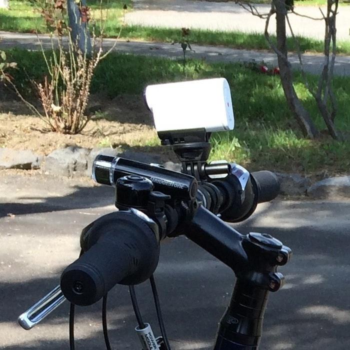 自転車にセット