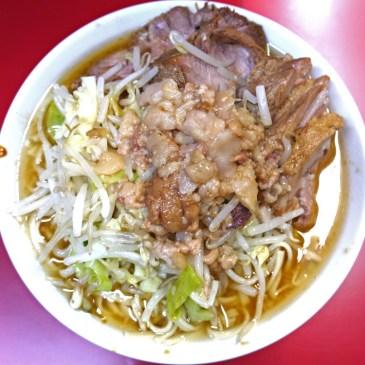 一度では理解できない三度通えばハマる食べ物ジロリアンへの道 第五弾『ラーメン二郎 西台駅前店』