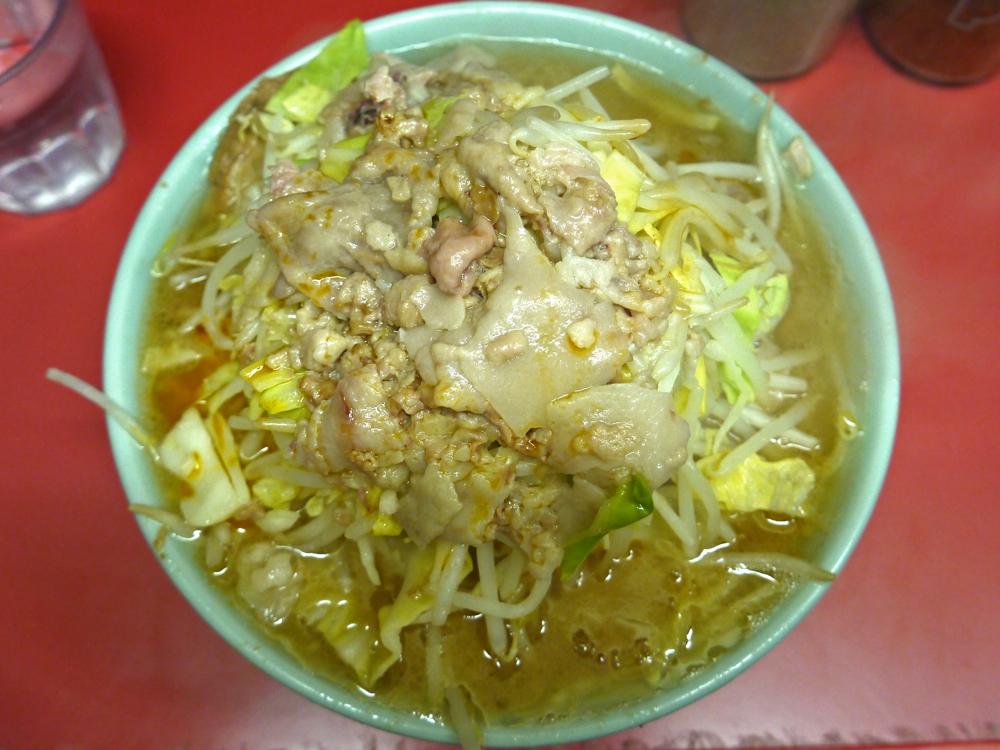 一度では理解できない三度通えばハマる食べ物ジロリアンへの道 第六弾『ラーメン二郎 桜台駅前店』