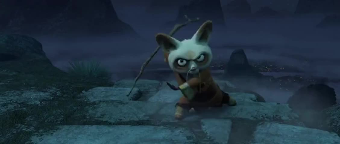 Yarn   You cannot leave! A real warrior never quits. ~ Kung Fu Panda (2008)   Video clips by quotes, clip   18d47ead-6054-4fe0-8c5b-da9ff23af03a   紗