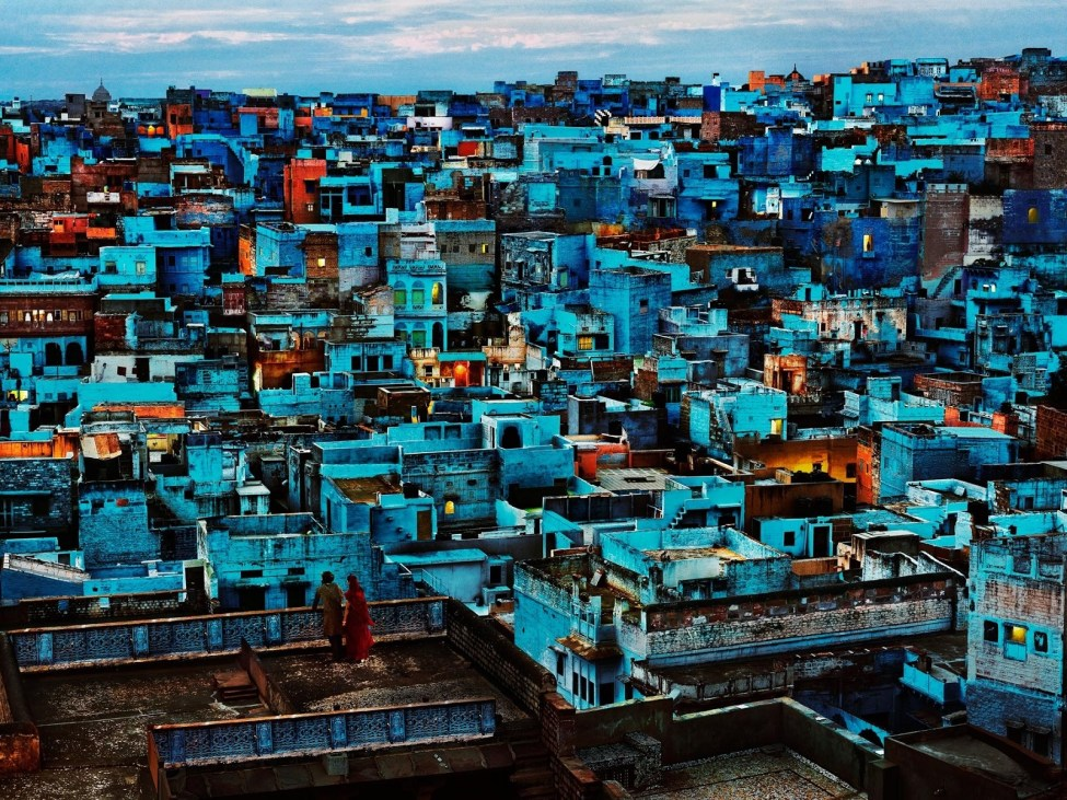 Steve McCurry, Blue City
