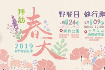 新竹賞花季來囉!新竹公園野餐音樂會春日市集,一起來賞櫻