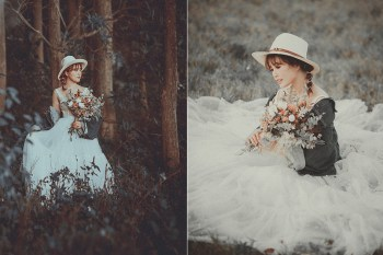 新竹婚紗攝影工作室推薦 路地裏火星兔子,另類藝術風格婚紗!新人婚紗試穿攝影分享