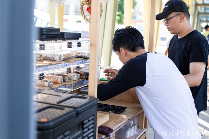 新竹壽司外帶推薦壽司寶!有緣才能吃到的幽靈餐車,創意日式花壽司每天新鮮現做,賣完就沒了