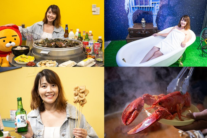 韓蚌蚌海鮮研究院新竹店|不用飛韓國就可以吃到巨無霸海鮮鍋!兩人就能開鍋,網美必拍浴缸月亮獨角獸照
