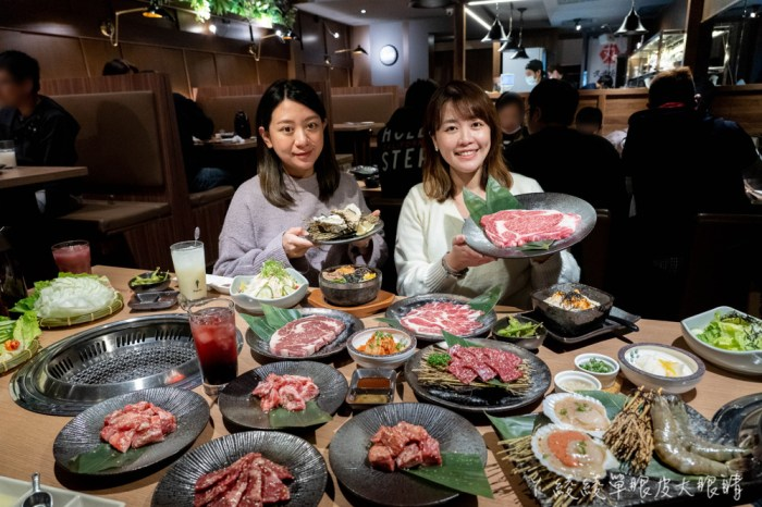 燒肉控看過來!情人節約會、聚會慶生好去處,新竹平價燒肉店當日壽星免費送生日肉肉塔