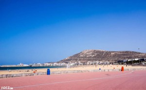 nice view of Kasba of Agadir