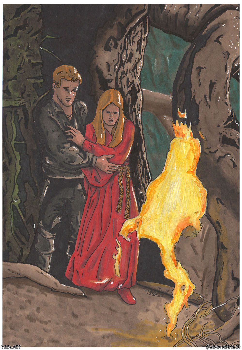 Princess Bride - Terrors of the Fire Swamp - Flame Spurts copy