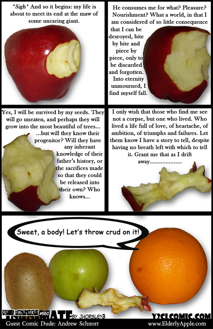 Guest Comic By Andrew Schnorr Of Elderly Apple