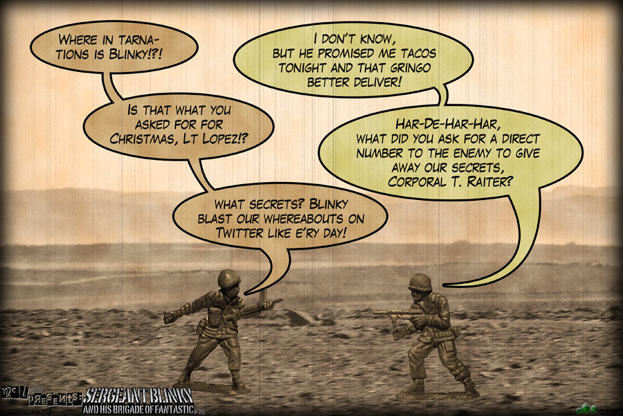 y2cl#1131/Sergeant Blinky#75 – 25 Days Of Christmas Day Sixteen: Battle Of The Mulch