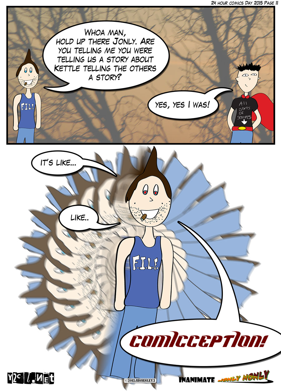 24 Hour Comics Day 2015 Page 11 – Comic-Ception