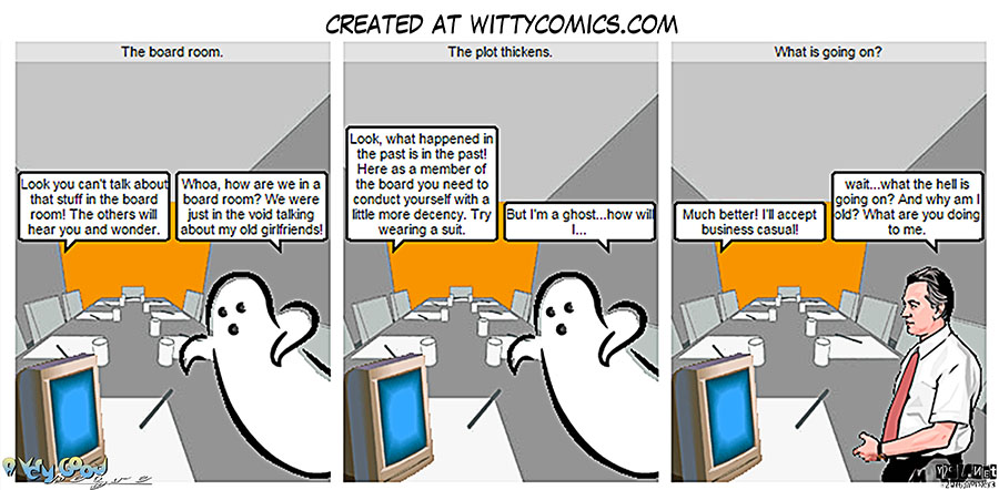 Ghosts in the board room