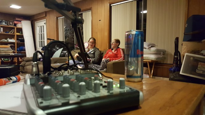 Redbull fueled this podcast.