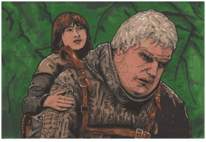 Game of Thrones - Hodor and Bran