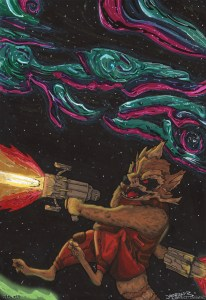 Green Lantern vs GOTG - Rocket Racoon copy
