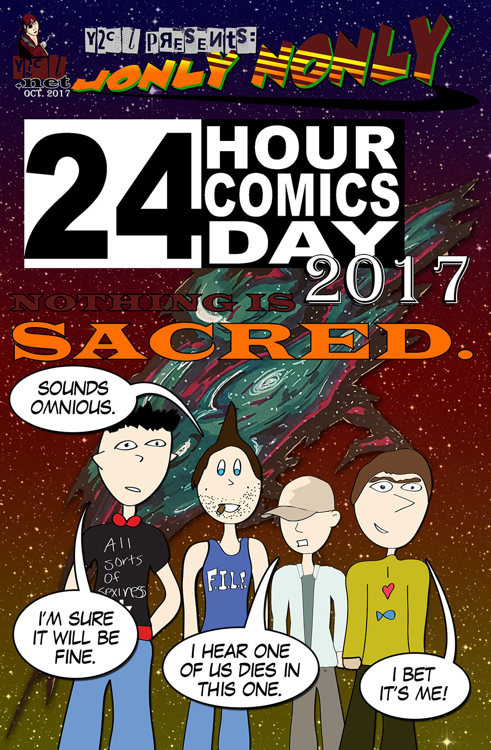 24 Hour Comics Day 2017 – Cover