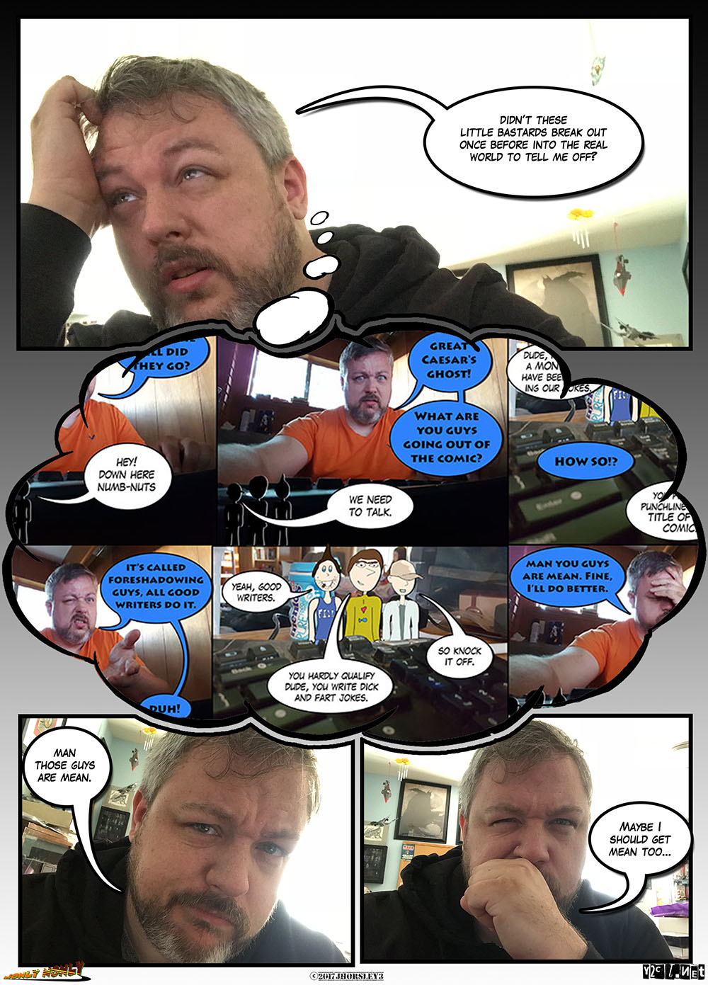 24 Hour Comics Day 2017 – This is gonna get ugly