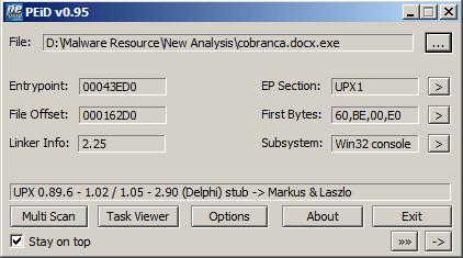 Análise de Malware: Win32 ProxyChanger (6/6)
