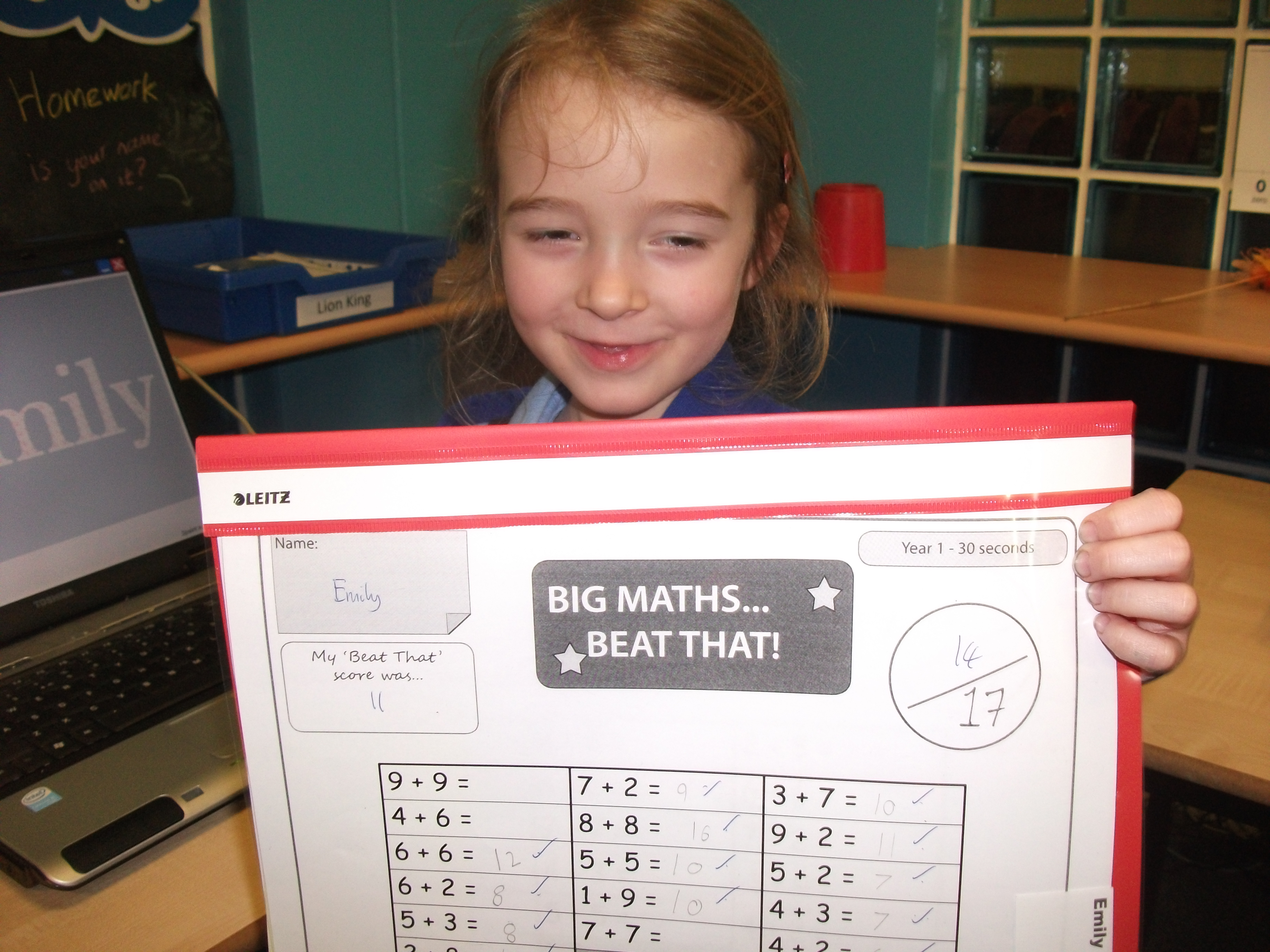 Some Great Big Maths Beat That Scores This Week