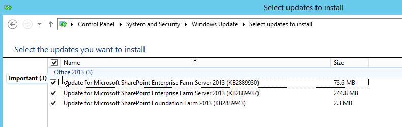October 2014 Public Updates