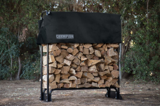 48 inch firewood rack cover champion