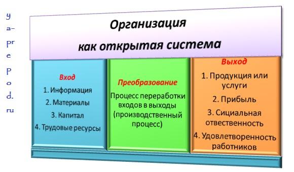 Организация как открытая система - Системный подход к управлению