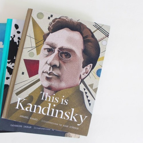 Illustration Inspiration: Laurence King Publishing's Illustrated Art History Books | A book review by illustrator and artist Yaansoon | Pen-and-ink illustration, digital brushes | This is Kandinsky