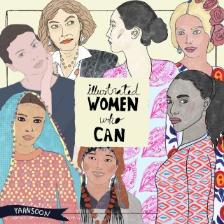 Women Empowerment Blog Series: Illustrated Women Who Can | by Yaansoon Illustration | Women Portraits and Stories, Illustrated Woman, International Women's Day, Women Rights #womenshistorymonth #internationalwomensday #womensday
