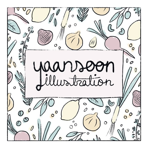 Yaansoon Illustration Logo