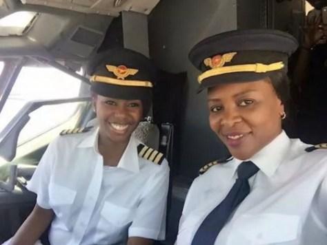 First-All-Women-Flight-Deck-Crew-Zimbabwe