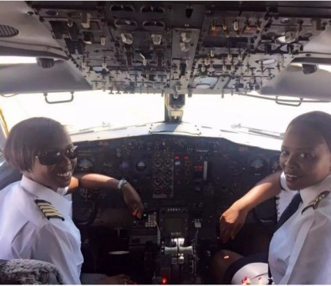 First-All-Women-Flight-Deck-Crew-Zimbabwean