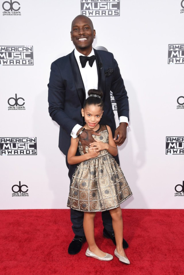 tyrese-gibson-daughter-2015-American-Music-Awards