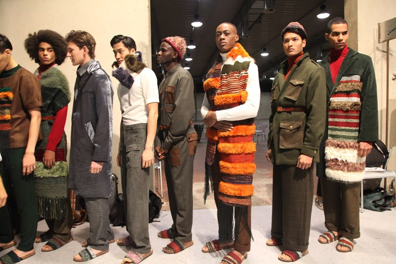 Asylum Seekers From Gambia & Mali Model At A Fashion Show In Italy