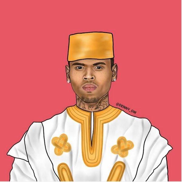 Chris-Brown-as-Chris-Kofi-Sarpong-Brown-denny owusu