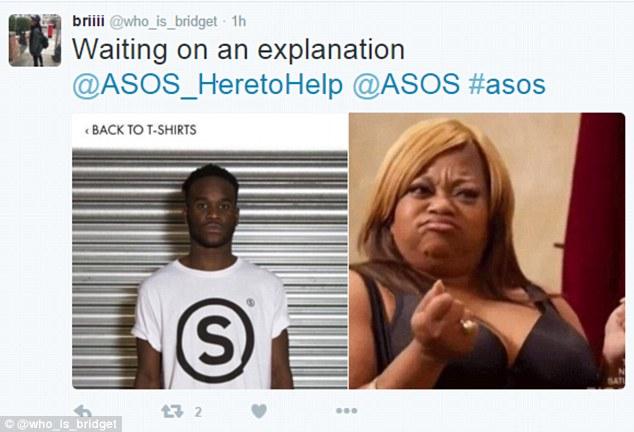 asos slave twitter